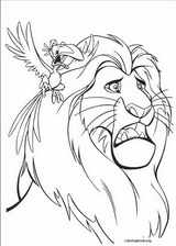 The Lion King coloring page (041)