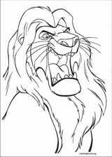 The Lion King coloring page (049)
