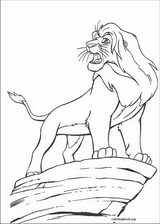 The Lion King coloring page (074)