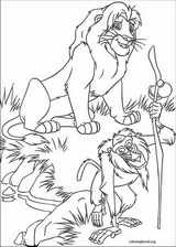 The Lion King coloring page (080)