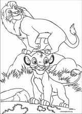 The Lion King coloring page (086)