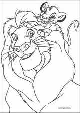 The Lion King coloring page (087)