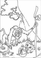 The Lion King coloring page (088)