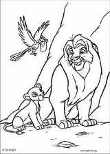 The Lion King coloring page (092)