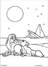 The Lion King coloring page (093)