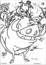 The Lion King coloring page (098)