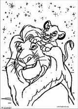 The Lion King coloring page (110)