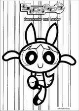 The Powerpuff Girls coloring page (009)