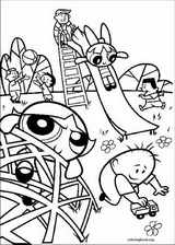 The Powerpuff Girls coloring page (014)