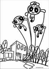 The Powerpuff Girls coloring page (015)