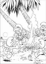 The Smurfs coloring page (006)