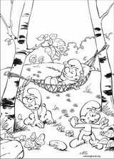 The Smurfs coloring page (008)
