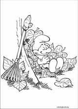 The Smurfs coloring page (022)