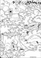 The Smurfs coloring page (023)