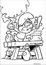 The Smurfs coloring page (030)