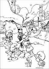 The Smurfs coloring page (031)
