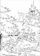 The Smurfs coloring page (041)