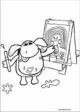Timmy Time coloring page (030)