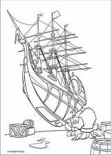 Treasure Planet coloring page (001)