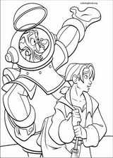Treasure Planet coloring page (003)