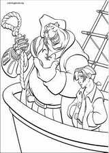 Treasure Planet coloring page (018)