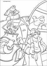 Treasure Planet coloring page (023)