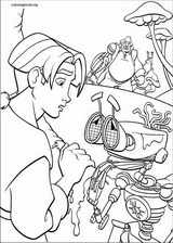 Treasure Planet coloring page (030)