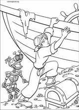 Treasure Planet coloring page (044)