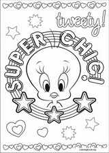Tweety coloring page (004)