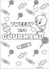 Tweety coloring page (005)