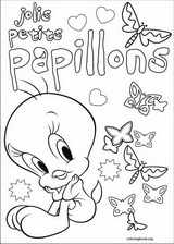 Tweety coloring page (010)