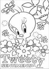 Tweety coloring page (024)