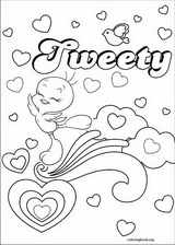 Tweety coloring page (027)