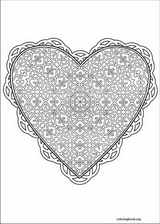 Valentine's Day coloring page (004)