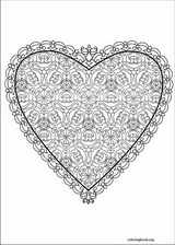 Valentine's Day coloring page (006)