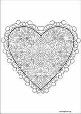 Valentine's Day coloring page (017)