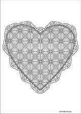 Valentine's Day coloring page (020)