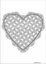 Valentine's Day coloring page (023)