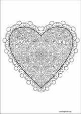 Valentine's Day coloring page (024)