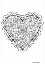 Valentine's Day coloring page (026)