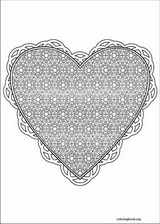 Valentine's Day coloring page (030)