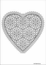 Valentine's Day coloring page (031)