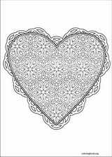 Valentine's Day coloring page (033)