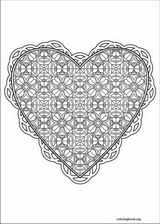 Valentine's Day coloring page (035)