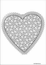 Valentine's Day coloring page (036)