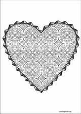 Valentine's Day coloring page (042)