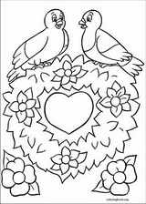Valentine's Day coloring page (052)