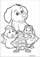Wonder Pets coloring page (001)