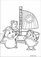 Wonder Pets coloring pages ColoringBookorg