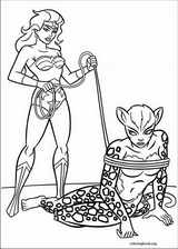 Wonder Woman coloring page (005)
